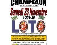 LOTO du 23 novembre 2019 à CHAMPEAUX (77720)
