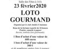 Loto Gourmand