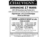SUPER LOTO A.C.C.A Chauvigny  Animé par Monique