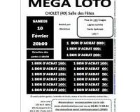 MEGA LOTO du Club Aquatique Choletais