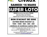 SUPER LOTO du club de Tennis