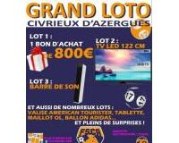 GRAND LOTO du Foot Salle Civrieux d'Azergues (FSCA)