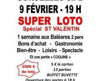 SUPER LOTO spécial ST VALENTIN