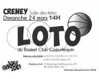 loto du basket club coeurlequin