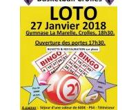 Super loto du Basketball Club de Crolles