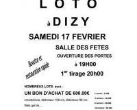 loto du comité de jumelage de DIZY