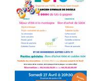 Dim 28 Avril 14h : Loto au profit des enfants de l'école Saint Joseph Dozulé