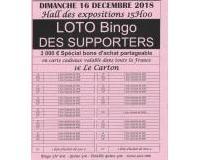 LOTO BINGO DES SUPPORTERS
