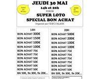 Loto spécial bons d'achat du club de Foot de Falaise