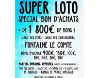 SUPER LOTO SPECIAL BON D'ACHATS