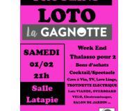 LOTO DE L'ASSOCIATION LA GAGNOTTE