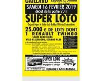 Super loto du judo club Gaillard Vétraz Etrembières