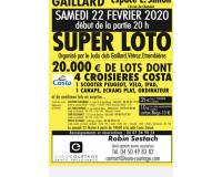 Super loto du judo club