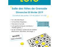Grand loto de Grenade sur Garonne