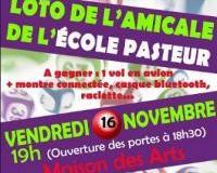 Loto de l'Amicale de l'Ecole Pasteur