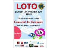 loto lions club LES PARQUEURS