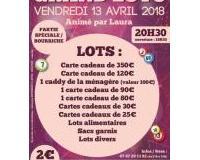Super loto  Groupement des Commerçants  de L'Absie