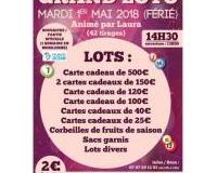 Super Loto  Basket les 3 Rivières  Breuil Barret