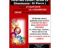Loto du Handball et des écoles Saint Pierre / La Chaumusse