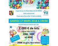 Super loto organisé par le club ados de La Maxe : 2000€ de cartes cadeaux