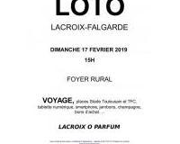 LOTO DE L'ASSOCIATION LACROIX O PARFUM