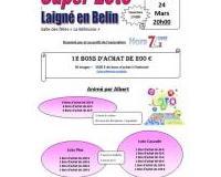 Super Loto 3500 euros de bons U National animation Albert à Laigné en Belin