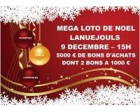 Mega Loto de Noel 5000 € Bons d'achats