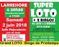 Grand LOTO-Bingo de Printemps - LARRESSORE