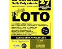 32ème loto de l'Orchestre d'Harmonie Le Cendre