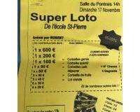 SUPER LOTO ECOLE ST PIERRE