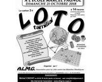 Loto familial organisé par l'ALMG