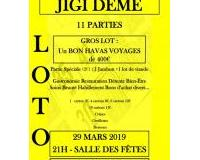 LOTO Solidaire de l'Association JIGI DÉMÉ
