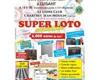 Super Loto Solidaire du Lions Club Chartres Jean Moulin