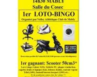 1ER LOTO-BINGO DU VOLLEY ATHLETIQUE CLUB MABLY
