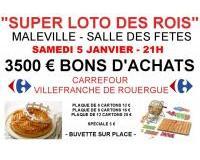 Super loto des rois 3500 euros à gagner