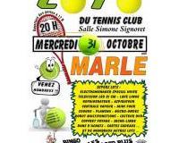 Super loto dun Tennis