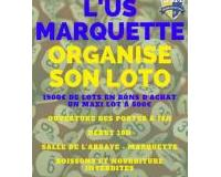 LOTO D'US MARQUETTE section Foot