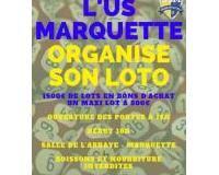 LOTO D'U.S MARQUETTE section Foot