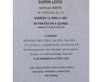 SUPER LOTO DE L'AMICALE DU C.O