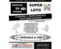 Super Loto 3200 € bons d'achats dont 1 de 1000 € A GAGNER