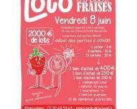 Loto de la fête des fraises