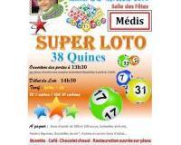 Super Loto au profit de l'association Un pas pour Raphaël