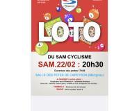 Loto du Sam Cyclisme + BINGO