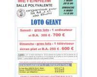 Loto géant de la M.J.C. de Buhl