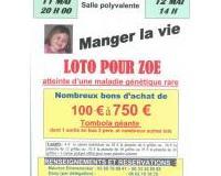 loto de solidarité pour Zoé