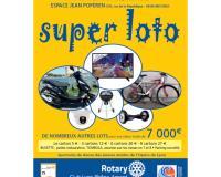 SUPER LOTO du Rotary Club de Lyon Rhône Amont