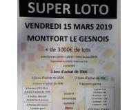 SUPER LOTO + de 3000€ de lots