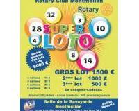 SUPER LOTO DU ROTARY-CLUB DE MONTMELIAN LA SAVOYARDE