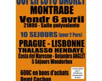 SUPER LOTO DU BASKET MONTRABE - VENDR 6 AVRIL