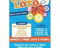 Loto de l'AS Monts basket